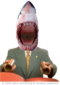 Scientology's Man-eating Sharky